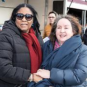 NLD/Biddinghuizen//20170305 - De Hollandse 100 - Stichting Lymph & Co 2017, moeder van Patrick Kluivert en moeder van Rosanna Kluivert-Lima