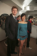 DUNCAN MACPHERSON AND CYNTHIA WU , the Tatler Little Black Book party. 24 Kingly st. London. W!. 9 November 2006. ONE TIME USE ONLY - DO NOT ARCHIVE  © Copyright Photograph by Dafydd Jones 66 Stockwell Park Rd. London SW9 0DA Tel 020 7733 0108 www.dafjones.com
