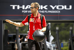 June 23, 2018 - Le Castellet, France - Motorsports: FIA Formula One World Championship 2018, Grand Prix of France, ..#5 Sebastian Vettel (GER, Scuderia Ferrari) (Credit Image: © Hoch Zwei via ZUMA Wire)