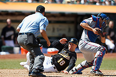 20100807 - Texas Rangers at Oakland Athletics (Major League Baseball)
