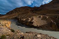 Sarchu River, Leh-Manali Highway, Himachal Pradesh, India.