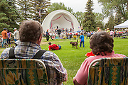Edgar J Lewis Bandshell at Washington Park, Laramie, WY