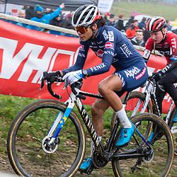 2020-01-01 Cycling: dvv verzekeringen trofee: Baal: New Colours, same outcome: Ceylin del Carmen Alvarado taking responsibility for the race