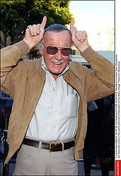 © Lionel Hahn/ABACA. 42196-38. Los Angeles-CA-USA. 02/09/2003. Daredevil's creator Stan Lee attends the Twentieth Century Fox world premiere of Daredevil at the Mann Village Theatre in Westwood.