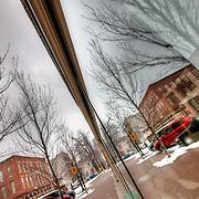 Delaware Street in the River Market, Kansas City Missouri.