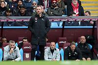 Aston Villa v Derby County - Sky Bet Championship<br /> BIRMINGHAM, ENGLAND - APRIL 28 :  Derby manager, Gary Rowett on the touchline at Villa Park