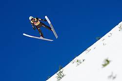 March 23, 2019 - Planica, Slovenia - Piotr Zyla of Poland in action during the team competition at Planica FIS Ski Jumping World Cup finals  on March 23, 2019 in Planica, Slovenia. (Credit Image: © Rok Rakun/Pacific Press via ZUMA Wire)