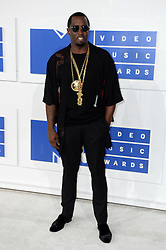 P Diddy arriving at the MTV Video Music Awards 2016, Madison Square Garden, New York City.