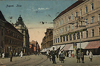 Zagreb : Ilica. <br /> <br /> ImpresumZagreb : Naklada Rudolf Polaček, [između 1922 i 1926].<br /> Materijalni opis1 razglednica : tisak ; 8,9 x 13,8 cm.<br /> NakladnikRudolf Polaček<br /> Vrstavizualna građa<br /> ZbirkaZbirka razglednica • Grafička zbirka NSK<br /> Formatimage/jpeg<br /> PredmetZagreb –– Ilica<br /> SignaturaRZG-ILIC-43<br /> Obuhvat(vremenski)20. stoljeće<br /> NapomenaPutovala je 1924. godine<br /> PravaJavno dobro<br /> Identifikatori000945767<br /> NBN.HRNBN: urn:nbn:hr:238:267579 <br /> <br /> Izvor: Digitalne zbirke Nacionalne i sveučilišne knjižnice u Zagrebu