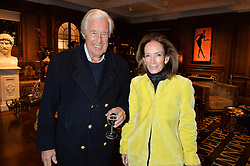 ***UK_MAGAZINES_OUT***<br /> LONDON, ENGLAND 30 NOVEMBER 2016: <br /> Left to right, Martin Summers, Anne Summers at the launch of In The Spirit of Gstaad at Maison Assouline, Piccadilly, London hosted by Mandolyna Theodoracopulos and Homera Sahni England. 30 November 2016.