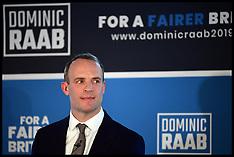 Dominic Raab Leadership Launch 10062019