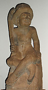 Indonesian (bali) figure of an early European settler or trader. early 20th Century