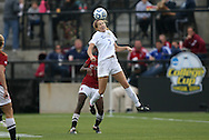 04 December 2011: Duke's Katie Trees. The Stanford University Cardinal defeated the Duke University Blue Devils 1-0 at KSU Soccer Stadium in Kennesaw, Georgia in the NCAA Division I Women's Soccer College Cup Final.