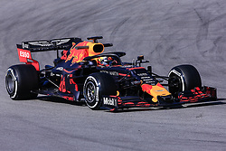 February 18, 2019 - Montmelo, BARCELONA, Spain - Max Verstappen from Nederland with 33 Aston Martin Red Bull Racing - Honda RB15 in action during the Formula 1 2019 Pre-Season Tests at Circuit de Barcelona - Catalunya in Montmelo, Spain on February 18. (Credit Image: © AFP7 via ZUMA Wire)