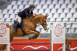 Van Hove Jan, BEL, Pim de Vinck<br /> Pavo Hengsten competitie - Oudsbergen 2021<br /> © Hippo Foto - Dirk Caremans<br />  22/02/2021
