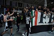Pajola Alessandro ,  Cournooh David Reginald, pubblico , tifosi<br /> LegaBasket Serie A 2019/2020<br /> 13° Giornata - Andata - 15/12/2019 <br /> Segafredo Virtus Bologna - Happy Casa Brindisi 99-87<br /> Bologna Virtus Segafredo Arena14/12/2019 Ore 20:30<br /> foto GiulioCiamillo/Ciamillo