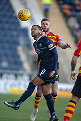 Falkirk's Dennon Lewis and Partick Thistle's Jamie Sneddon. half time : Falkirk 0 v 0 Partick Thistle, Scottish Championship game played 17/11/2018 at The Falkirk Stadium.