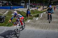 #74 (ADMAKINA Svetlana) RUS during round 4 of the 2017 UCI BMX  Supercross World Cup in Zolder, Belgium.