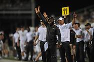 Vanderbilt Commodores head coach Derek Mason at Vaught-Hemingway Stadium at Ole Miss in Oxford, Miss. on Saturday, September 26, 2015. (AP Photo/Oxford Eagle, Bruce Newman)