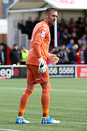 Rangers goalkeeper Allan McGregor (1)  during the Ladbrokes Scottish Premiership match between Hamilton Academical FC and Rangers at New Douglas Park, Hamilton, Scotland on 24 February 2019.