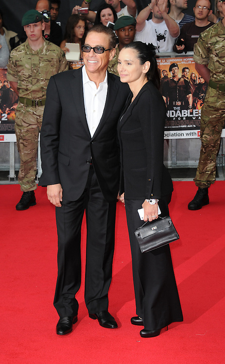 Jean Claude van Damme attends the Expendables 2 premiere in Leicester Square, London, UK. 13/08/2012 Anne-Marie Michel/CatchlightMedia