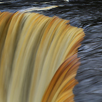 """""""Flow of Tahquamenon""""<br /> <br /> Enjoy the silky smooth flow of the beautiful colorful waters of Tahquamenon Falls!!<br /> <br /> Waterfalls by Rachel Cohen"""
