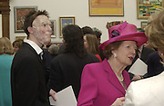 Margaret Thatcher. The Queen's celebration of the Arts. Royal Academy. 16 May 2002. © Copyright Photograph by Dafydd Jones 66 Stockwell Park Rd. London SW9 0DA Tel 020 7733 0108 www.dafjones.com