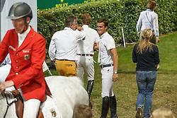 Philippaerts Olivier (BEL), Gravemeier Kurt (GER), Devos Pieter (BEL)<br /> S8 Mercedes-Benz Nations Cup<br /> Weltfest des Pferdesports CHIO Aachen 2014<br /> © Dirk Caremans