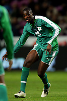 Fotball<br /> Privatlandskamp<br /> 16.11.2005<br /> Italia v Elfenbenskysten <br /> Foto: Graffiti/Digitalsport<br /> NORWAY ONLY<br /> <br /> Yaya Toure Cote d'Ivoire