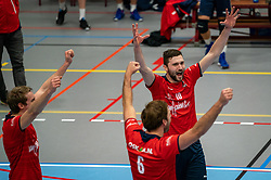 Tom van den Boogaard of Taurus in action during the league match Taurus - Amysoft Lycurgus on January 16, 2021 in Houten.