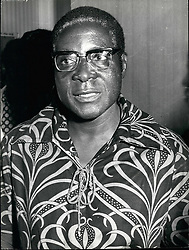 Dec. 14, 1965 - Rhodesia ' Mugabe Robert Mugabe, 51 years old, one of the top Nationalist leaders of Rhodesia. He has influenced among the 8000 or os freedom fighters of Mozambique-based Zimbabwe People's Army (ZIPA), spearhead of the Rhodesian Guerrilla Movement. Mugabe was once a deputy to Joshua Nkomo, bit in 1963 he broke with Nkomo and ZAPU to help found the rival and more extreme Zimbabwe African National Union (ZANU), under the leadership of the Rev. Ndabaningi Sithole. (Credit Image: © Keystone Pictures USA/ZUMAPRESS.com)
