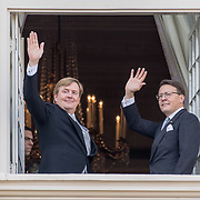 NLD/Den Haag/20170919 - Prinsjesdag 2017, Koning Willem Alexamder en Prins Constantijn