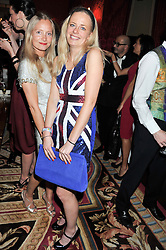 Left to right, MARTHA WARD and ASTRID HARBORD at Tatler's Jubilee Party in association with Thomas Pink held at The Ritz, Piccadilly, London on 2nd May 2012.
