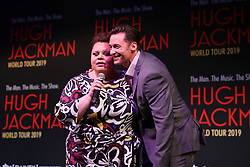 February 26, 2019 - HUGH JACKMAN and KEALA SETTLE  announcing his 2019 World Tour at Museum of Contemporary Art, Sydney on February 26, 2019  (Credit Image: © Christopher Khoury/Australian Press Agency via ZUMA  Wire)