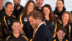 Prince Harry in Sydney, Australia, where he is attending events and activities to mark the official launch of the Invictus Games Sydney 2018. After attending a launch ceremony and reception at Admiralty House, where he met dignitaries and members of the Australian Invictus Games squad, he travelled to Circular Quay to watch a sports demonstration.