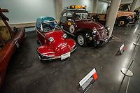1956 Messerschmitt (left) & 1953 Citroen