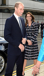 The Duke and Duchess of Cambridge arrive at the University of Manchester to view the National Graphene Institute during a day of engagements in Manchester.