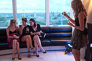 LYDIA ZACHARIS; ; ALEX EVANS;  LISA FELDMAN;  BEANY GAY;,, THE launch of Coutts london jewelry week. Altitude 360. Millbank.  9 June 2009