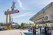 Mc Donald's Downey California