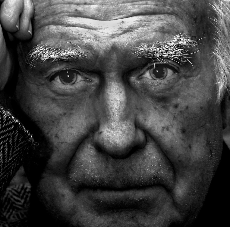 British photographer Terry Fincher photographed in 2006