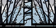 """This abstract composite image was inspired by a rendering of a very early spring scene of emerging buds on silhouetted branches.<br /> <br /> For IMAGE LICENSING information, click on """"PURCHASE"""" button above, then click """"DOWNLOADS INFO"""", or contact the artist.<br /> <br /> Fine Art archival paper prints for this image as well as canvas, metal and acrylic prints available here:  https://2-julie-weber.pixels.com/featured/blues-barely-spring-abstract-julie-weber.html<br /> <br /> <br /> To GET BACK TO LAGE IMAGE VIEWS:<br /> Click your browser back arrow until you get to the large view screen. <br /> OR click https://julieweberphoto.photoshelter.com/index<br /> which takes you to the home page. Then choose a gallery.  <br /> <br /> For FULL SCREEN VIEW, click on expand view double arrow icon"""