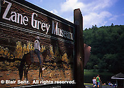 Zane Grey Museum, Lackawaxen, PA, Upper Delaware River, Pike Co.