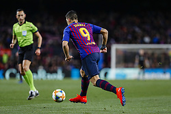 January 30, 2019 - Barcelona, Spain - FC Barcelona forward Luis Suarez (9) during the match FC Barcelona v Sevilla CF, for the round of 8, second leg of the Copa del Rey played at Camp Nou  on 30th January 2019 in Barcelona, Spain. (Credit Image: © Mikel Trigueros/NurPhoto via ZUMA Press)