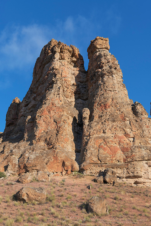Pallisades of Clarno Unit of John Day Fossil Beds National Monument Oregon