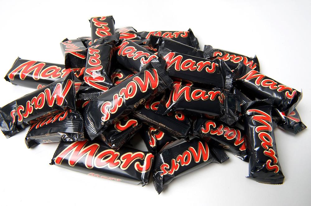 Nederland, Driebergen, 27 april 2010.Mars repen .Mars gebruikt tegenwoordig fair-trade chocolade in haar repen.Foto (c)  Michiel Wijnbergh