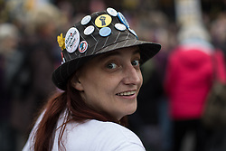 © Licensed to London News Pictures . 12/11/2016 . Manchester , UK . Approximately 2000 people march and rally against Fracking in Manchester City Centre . Photo credit : Joel Goodman/LNP