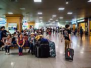 SEOUL, SOUTH KOREA: The passenger waiting area at Seoul Station, the largest train station in South Korea.  PHOTO BY JACK KURTZ