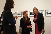 DAVID SPENCE; LOUISE SPENCE; BRETT ROGERS, Warhol, Burroughs and Lynch exhibition. The Photographers' Gallery, Ramillies Place, London. 16 January 2014.