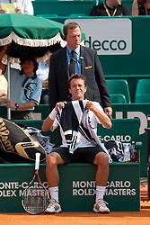 16.04.2010, Country Club, Monte Carlo, MCO, ATP, Monte Carlo Masters, im Bild Philipp Kohlschreiber (GER), EXPA Pictures © 2010, PhotoCredit: EXPA/ M. Gunn / SPORTIDA PHOTO AGENCY