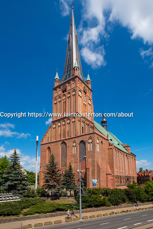 Cathedral Basilica of St. James the Apostle in Szczecin, Poland.